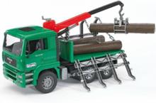 Man Timber Truck w. loading crane