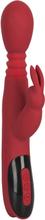 You2Toys: Silicone Rabbit Vibrator, röd