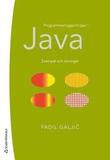 Programmeringsprinciper i Java - Exempel och övnin
