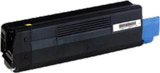 OKI C5100 BK (43324408) Lasertoner, Svart, kompatibel (5000 sidor)