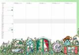 Fritzes stora planeringskalender för förskola, sko