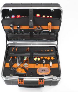 BAHCO robust værktøjskasse med 55 værktøjer 4750RCW011BNL
