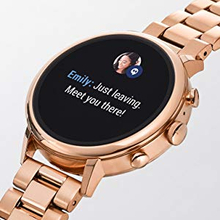 Fossil DW2B 44mm Rose Gold Stainless Steel