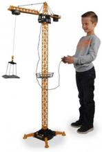 132 cm høj Legetøjs kran med fjernbetjening