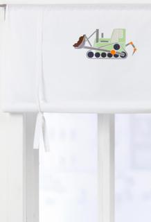 ALBIN roll up-gardin, økologisk