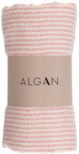 ALGAN Elmas-iki hamamhåndklæde gammelrosa - 100x180 cm