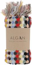 ALGAN Ahududu gæstehåndklæde multi - 65x100 cm