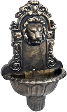 vidaXL Väggfontän lejonhuvud brons