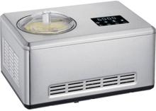 SEVERIN EZ7405 Sorbetiere Yoghurt maker 2 i 1 - Innovativ funktion för tillverkning av glasssorber och yoghurt / borstat rostfritt stål