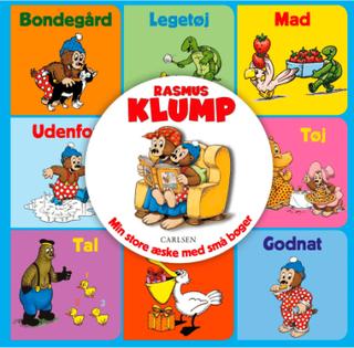 Rasmus Klump - Min store æske med små bøger - Papbog