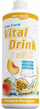 Low Carb Vital Drink 1000ml Peach Passionfruit