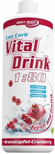 Low Carb Vital Drink 1000ml Pomegranate Cranberry