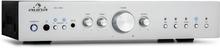 AV2-CD608BT HiFi-stereo-förstärkare 4x100W RMS BT Dig-Opt-In silver