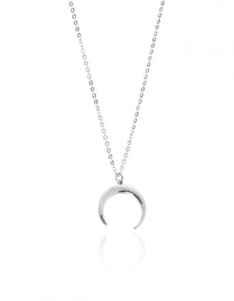 Naszyjnik z księżycem srebrny
