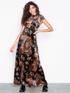 Vila Vigilla Cap Sleeve Dress Maxikjoler