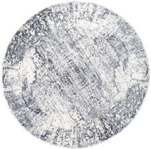 Mistral - Ljusgrå matta Ø 200 Orientalisk, Rund Matta