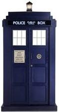 Doctor Who Tardis Mini Carboard Ausschnitt