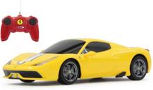 Ferrari 458 Speciale A 1:24 yellow 27MHz