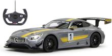 Mercedes AMG GT3 Performance 1:14 grey 27MHz