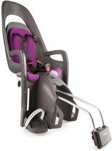 hamax Polkupyörän lastenistuin Caress + lukittava pidike, harmaa/violetti - liila