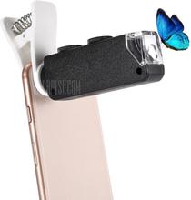 60X - 100X Zoom Optical Lens Microscope Tool