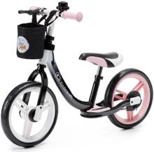 Kinderkraft Balance Potkupyörä Space, pinkki - musta