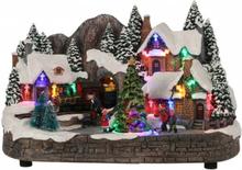 Landsby med tog - juleby luville