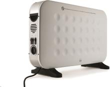 Wilfa Hcf-2000w Glow Fan Gulv- & Panelovn - Hvit