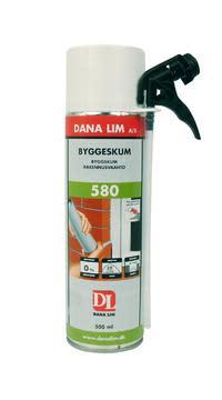 Dana Lim Isocyanatfri 580 byggeskum, 500 ml
