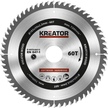 Kreator Sagblad for sirkelsag 60 tenner - Ø185 mm