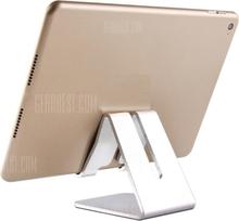 Aluminum Metal Phone Holder Desktop Universal Non-slip Mobile Phone Stand Desk Holder for iPhone Pad For Samsung Tablet