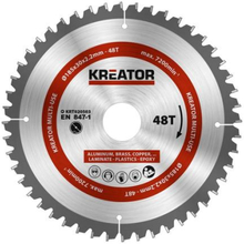 Kreator Sagblad for sirkelsag universal 48 tenner - Ø185 mm