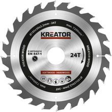 Kreator Sagblad for sirkelsag 24 tenner - Ø185 mm