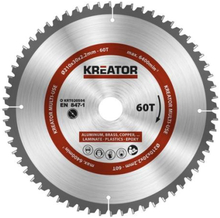 Kreator Sagblad for sirkelsag universal 60 tenner - Ø210 mm