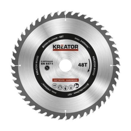 Kreator Sagblad for sirkelsag 48 tenner - Ø250 mm