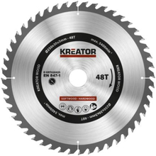 Kreator Sagblad for sirkelsag 48 tenner - Ø250 mm