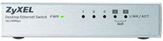 Kontakt til desktop ZyXEL ES-105AV3-EU0101F 200 Mbps LAN RJ45 x 5 Hvid