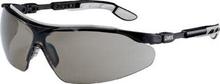 Sikkerhetsbrille Uvex I-Vo, sort/grå med mørk linse
