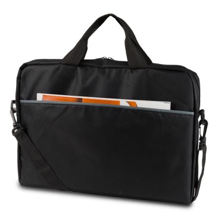 """DELTACO Kannettavan tietokoneen laukku, jopa 15,6"""" - Musta"""