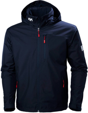 Crew Midlayer Hooded Navy M