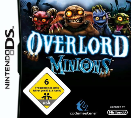 Overlord Minions (Nytt Inplastat) - Nintendo DS (brugt) - CDON.COM