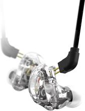 Stagg sound-isolating earphones, transparent SPM-235