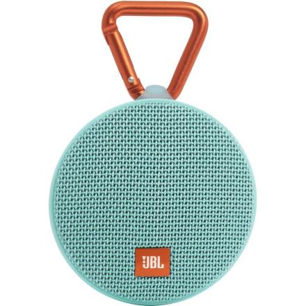 Bluetooth-högtalare JBL Harman Clip 2 Vattenfast, Högtalartelefonfunktion Turkos