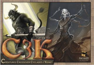 Kemet C3K: Creatures Crossover Cyclades (Exp.)