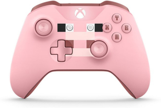 Xbox One S Wireless Controller Minecraft Pig V2 (Bulk)