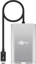 Goobay Thunderbolt 3 dock med 2x Displayport