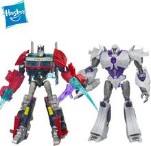 Hasbro Transformers Prime Cyberverse Commander Class Series Megatron Optimus Prime Bulkhead Ironhide Magnus Action Figure Toys