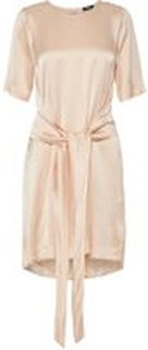 J.LINDEBERG Embla Liquid Satin Dress Kvinna Beige