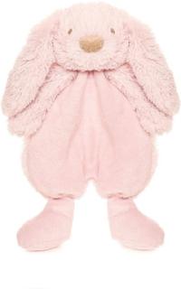 Lolli bunny rosa snuttefilt, 25 cm, Teddykompaniet