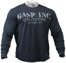 Gasp Thermal Gym Sweater Asphalt- Treningsgenser